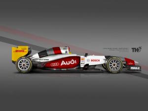 Koncept Audi F1