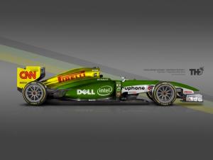 Koncept Caterham F1 2015