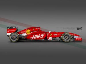 Koncept Ferrari F1 2015