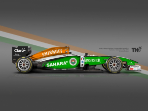 Koncept Force India F1 2015