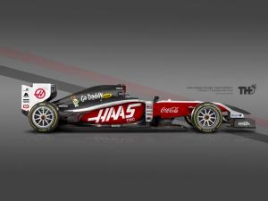 Koncept Haas F1 2015
