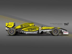 Koncept Lotus F1 2015