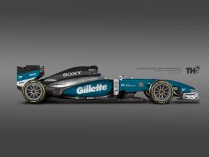 Trukos Koncept McLaren F1 2015