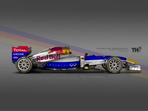 Koncept Red Bull F1 2015