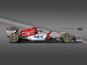 Koncept Sauber F1 2015