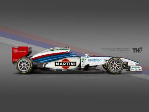 Koncept Williams F1 2015