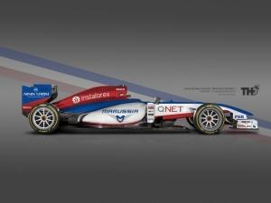 Koncept Marussia F1 2015