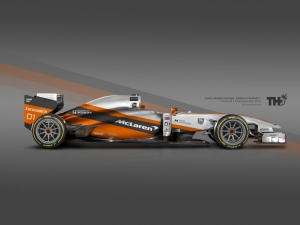 Orange Koncept McLaren F1 2015