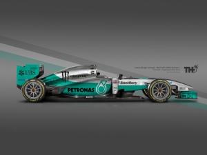 Koncept Mercedes F1 2015