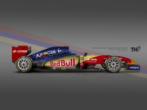 Koncept Toro Rosso F1 2015
