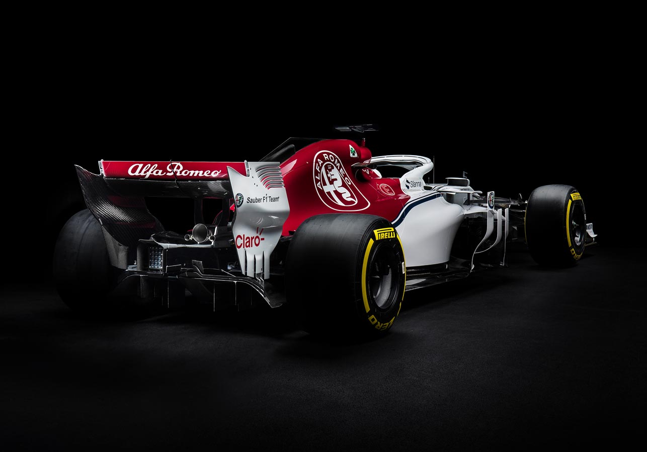 Alfa Romeo Sauber C37 - Rear Side