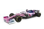 Racing Point F1 bil från sidan