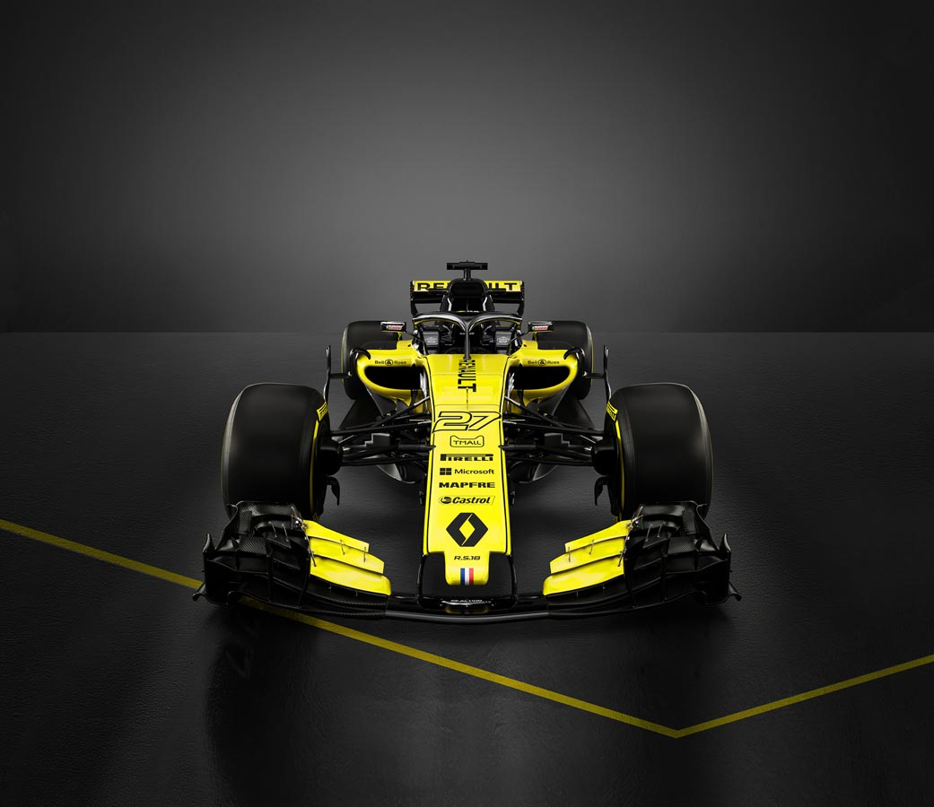 Renault Sport R.S 18 - Front View