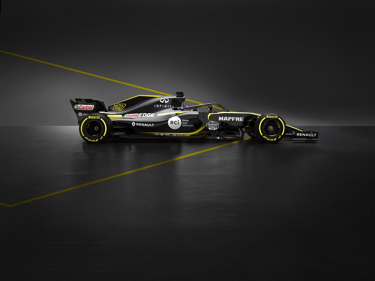 Renault Sport F1 R.S 18 - Side View