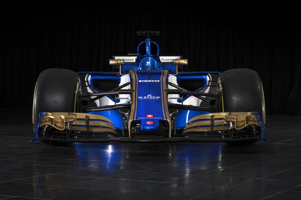 20 februari, Sauber F1