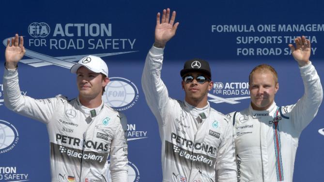 BelgiensGP – Kvalresultat och startordning, Hamiltons sjätte raka pole