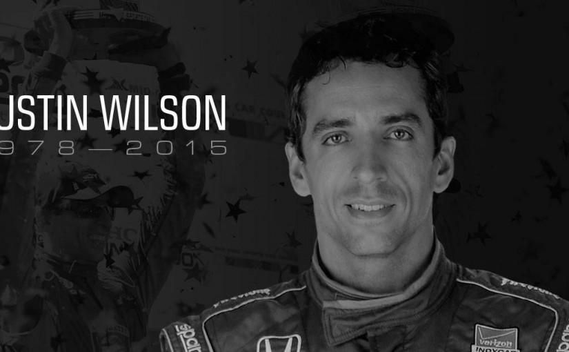Indycar-föraren Justin Wilson har avlidit