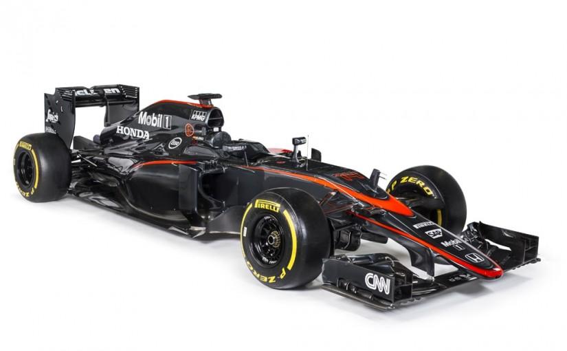 Såhär ser McLarens nya  MP4-30 design ut